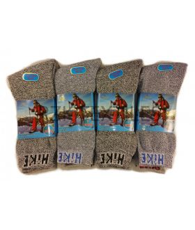 10 X 12  PAIR GREY HIKE  WORK SOCKS -ASSORTED WORK SOCKS - £4  DOZEN