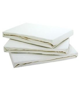 10 X 100% EGYPTIAN COTTON SHEETS .SINGLE FLAT 100% COTTON SHEETS £3 EACH