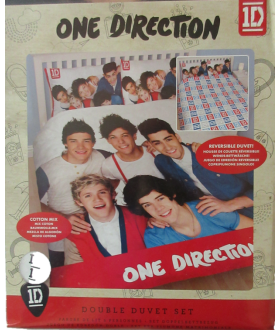 One Direction Bed Set   Double Duvet Set   Cover With 2 Pillowcases